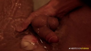 NextDoorBuddies Romantic Bathroom Hot Sex Hung blonde