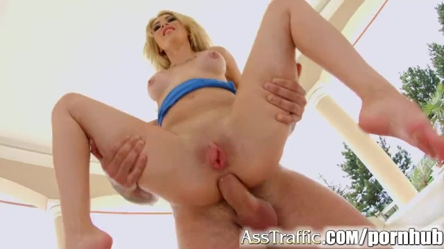 Ass teriffic Ass traffic babegets a huge dick pounding her ass