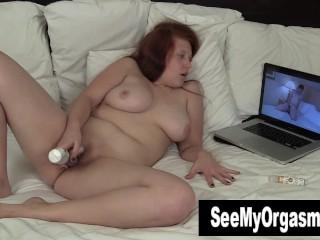 BBW Ginny Toying Her Snatch