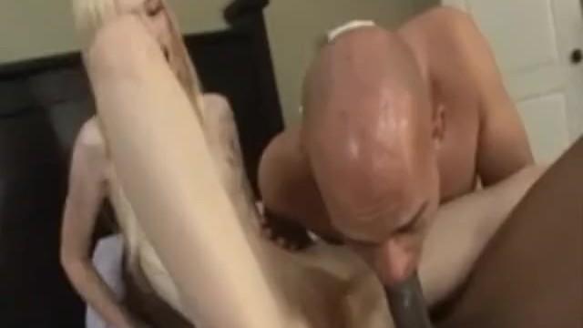 Hottie rare escort Lucky starr in rare bi-cuckold scene