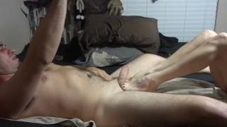 Footjob toe suck ass lick and finger ball crushing dick biting deepthroat 2