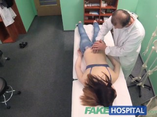 Tereza Srbova Porn Fakehospital Petite Babe Takes Double Cumshot In Private Hospital