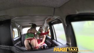 FakeTaxi Santas naughty helpers Maid kitchen