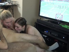 Blaxk girl fucks man hard