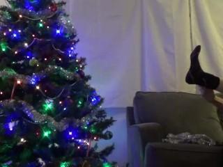 JohnnyIzFine Christmas Striptease