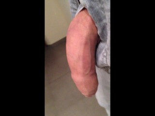 Live picture from my flaccid cock