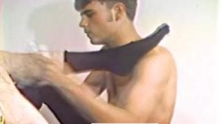 Kinky  seamen action vintage hot licking underwear