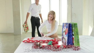 Passion-HD - Bella Rose fucks her secret Santa for Xmas