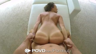 POVD Super hot Lily Love hot is fucked in POV