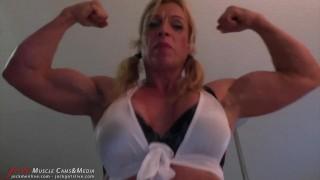 School revenge girl's a fantasy muscle woman mother