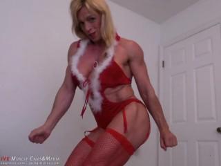 Santa Stella - The Muscle Ms. Santa