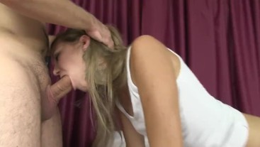 Licking amazing ass of young sweet girl and fucking