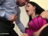 Two Busty Beauties sharing one cock