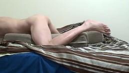 fuckin fleshlight POV legs feet-prt1