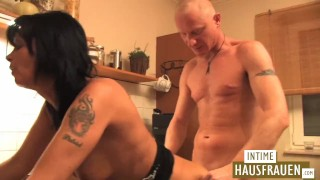 Fucked the in kitchen hd raw