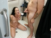 GIA ROSE' FIRST EVER GOLDEN SHOWER!