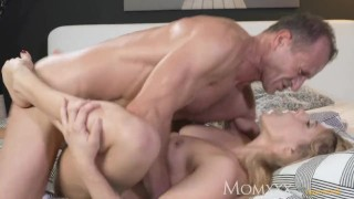 MOM Multiple real orgasms as soaking wet nympho gets best fuck ever Big riding