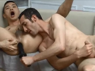 Hot Asian Fucked with Toys then Raw Fucked