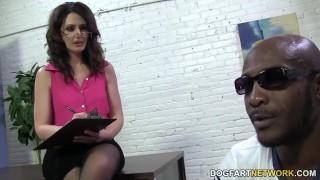 Sarah Shevon loves anal sex with big black cock