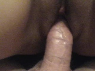 Sexy brunette milf gets a mouth and pussyful of dick....