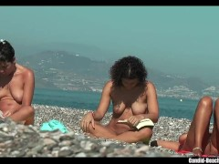 Sexy Nudist Babes at the Beach Voyeur Spycam HD 02