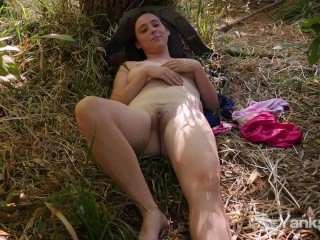 X Ray Porno Busty Michelle Masturbating In The Nature, Amateur Big Tits Masturbation Public