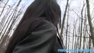 PublicAgent Sex in the woods with a stranger