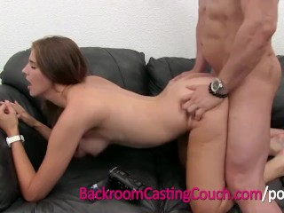 Sheri Naked Teen Cocksucking Champion Mia on Backroom Casting Couch