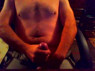 Solo Masturbating - One Finger Finish