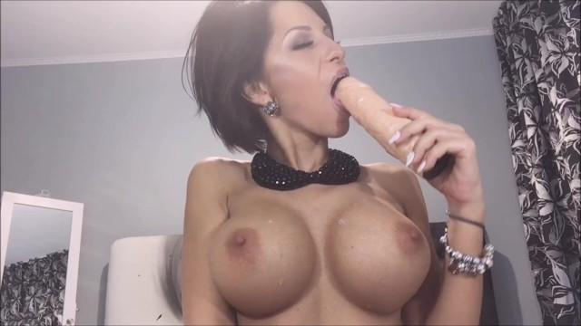 Lives for pleasure Anisyia livejasmin 2016 blowjob spit on tits