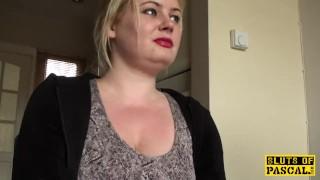 Throatfucked UK sub spanked until red raw