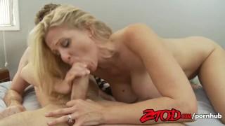ZTOD - Hot MILF Julia Ann Fucks Young Guy