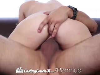 CastingCouch-X - Sexy Mia Scarlett gets fucked on the casting couch