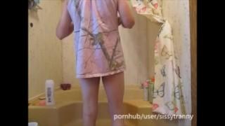 Darmowa pornografia - Czas Na Prysznic Z Maminsynkiem, Gorące Mycie Ciała Pod Prysznicem I Zabawa