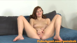 Preview 6 of FakeAgent Horny Russian goes all the way in casting
