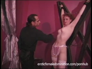 Xxx Moms Porn Yasmin Scot Dungeon Master Shows No Mercy To The Slave, Bondage Fetish Red Head