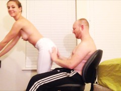 fucking on an office chair
