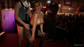 Scarlett e Sónia Casting Ao Vivo / Live Casting Portuguese Style  teasing outside party blonde public striptease brunette babes tattoos stockings latin big boobs pornlowcost live sex