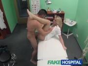 FakeHospital Nurse eases pressure in studs balls