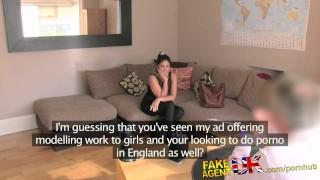 FakeAgentUK Lady wants to do European porn porno