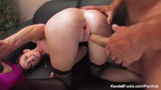 Kendall Karson loves taking it from behind