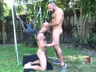 Alessio Romero and Cy Kohen Raw