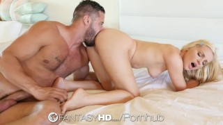 FantasyHD - Staci Carr plays with her soaking wet pussy in the bathtub