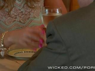 Wicked - Couple has sex in public bathroom