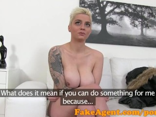 Free Mother Vagina Videos FakeAgent Short hair Austrian with big tits
