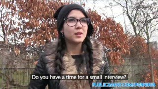 PublicAgent Emo chick has sex in the woods Masturbation homemade