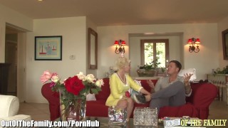 Cougar Assfucked by new Son in Law Kawaii pov