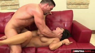 BrutalClips - Naughty Asian Gets Punished  doggy style big-cock brutalclips cock-sucking asian cumshot tattoo big-boobs skinny ass-fuck hardcore japanese rough socks shaved small-tits anal foot fuck facial