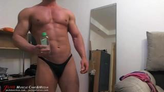 Muscle Chat Spy Cam Jerk Cock black
