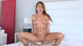 FantasyHD - Christiana Cinn cums and squirts multiple times Tranny asian